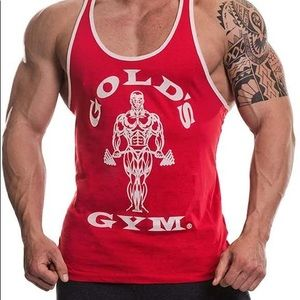 Gold's Gym Tank - Red